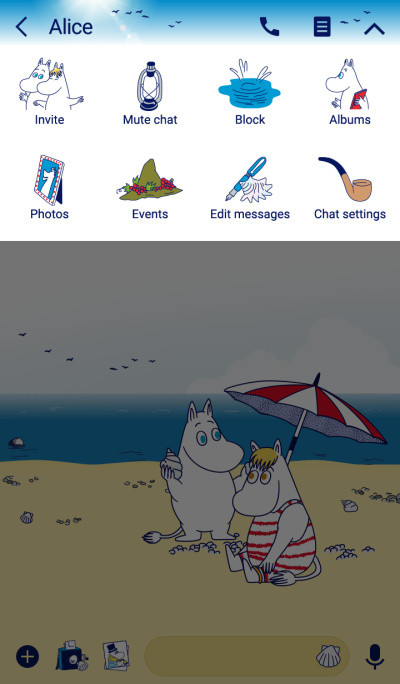 Moomin Seaside Summer