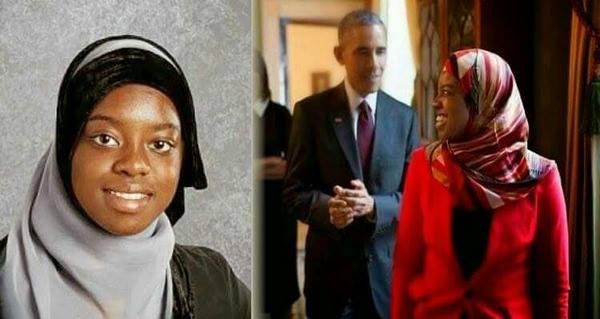 هل تعرفون من تكون هذه الفتاة النيجيرية المسلة التي طلب أوباما مقابلتها بنفسه وماذا فعلت !!