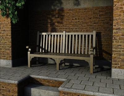 Premium Props - Park Bench
