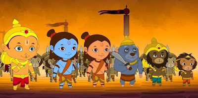 Lord Ram of kids is different by Vibhu & Me