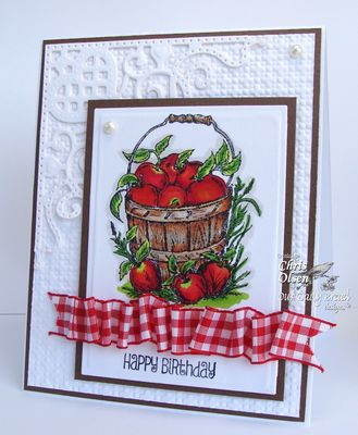 Stamps - Our Daily Bread Designs Apples, Be Joyful, ODBD Custom Decorative Corners Die