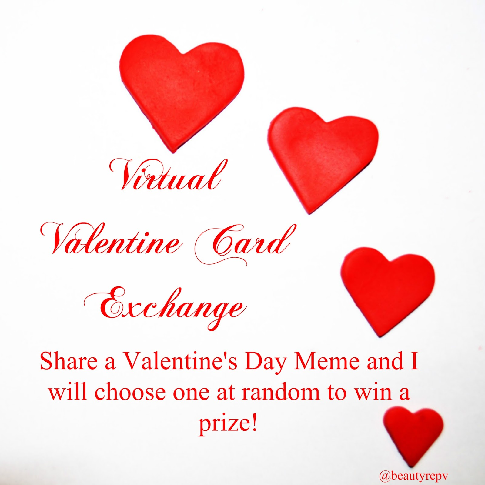 BeautyRepV Tip TuesdayEnter the Virtual Valentine Card Exchange – Virtual Valentines Day Cards