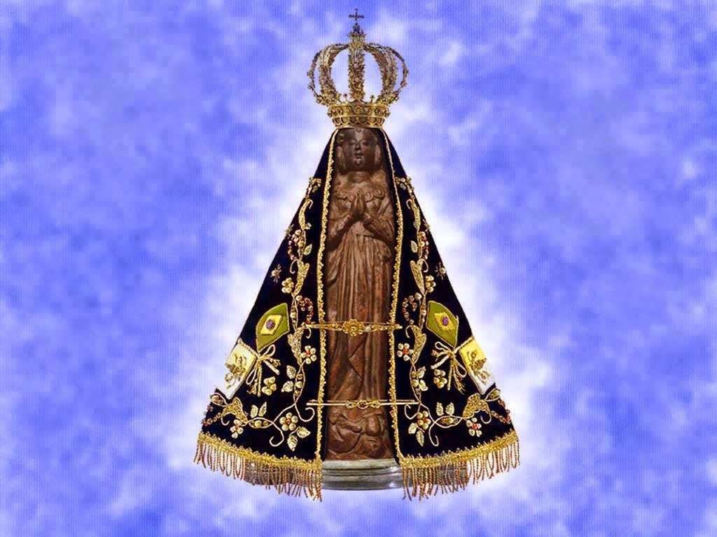 Imagem Original De Nossa Senhora Aparecida: Mosaicos Portella : Nossa Senhora Da Conceição Aparecida