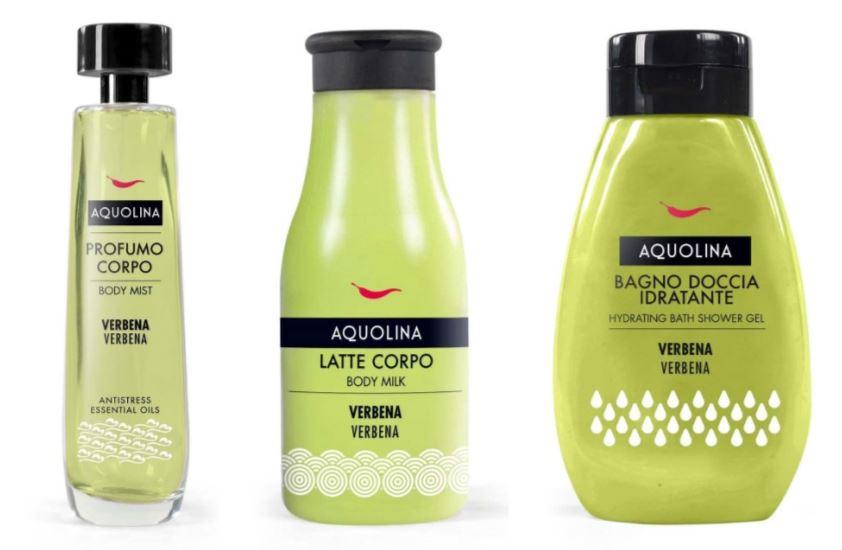 Bagno Doccia Aquolina : Golden backstage: aquolina di selectiva rinnova logo profumazioni e