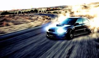 cara drift mobil matic