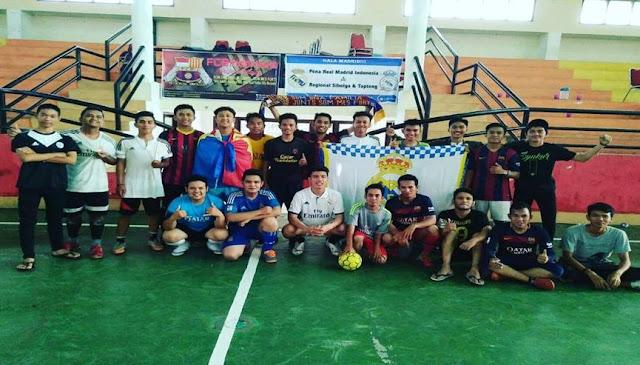 Suasana Futsal El-Clasico PRMI Sibolga bersama FCBI Sibolga