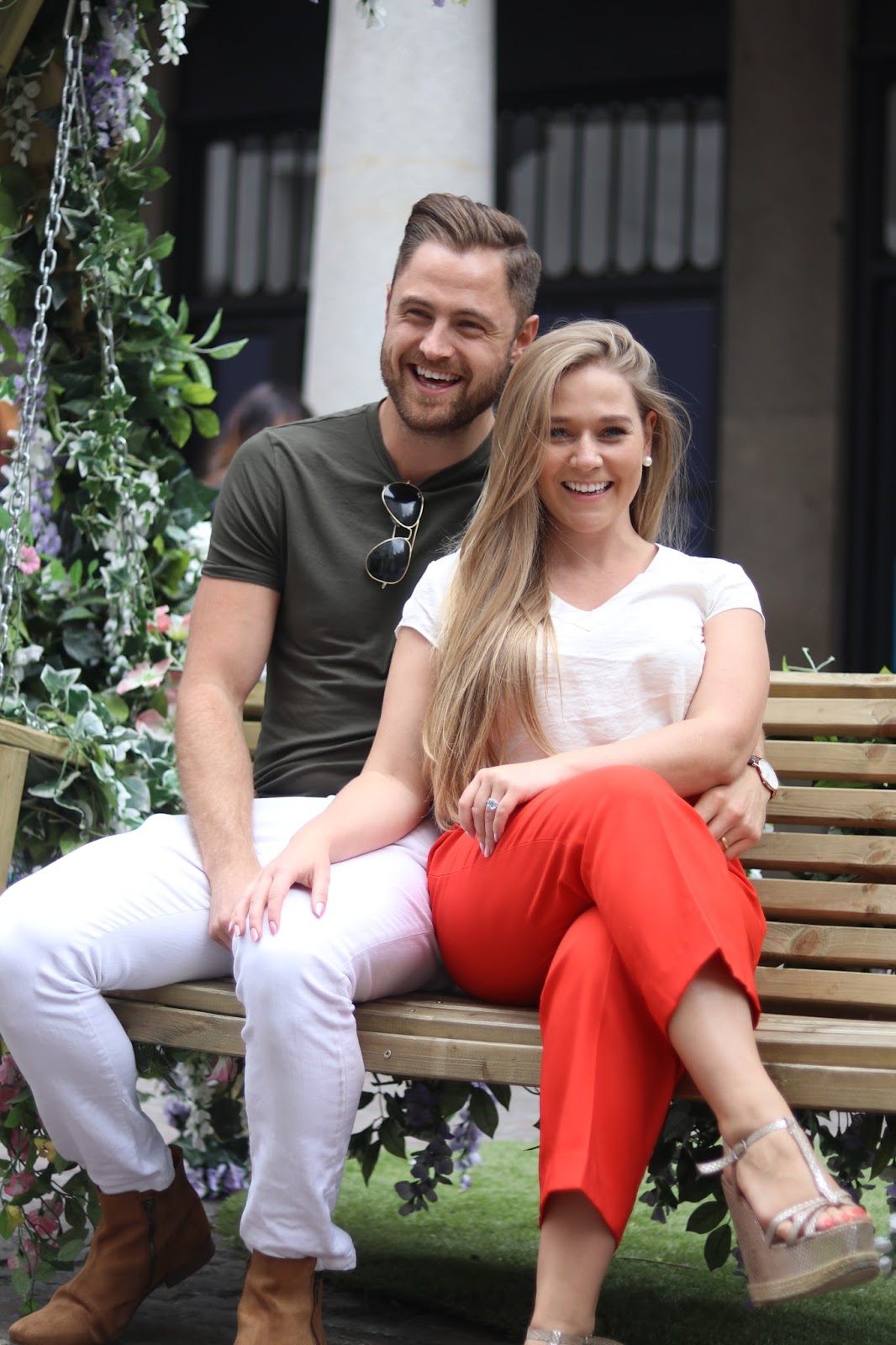 The Lady and Gent, Katie Heath and Ben Heath in Covent Garden