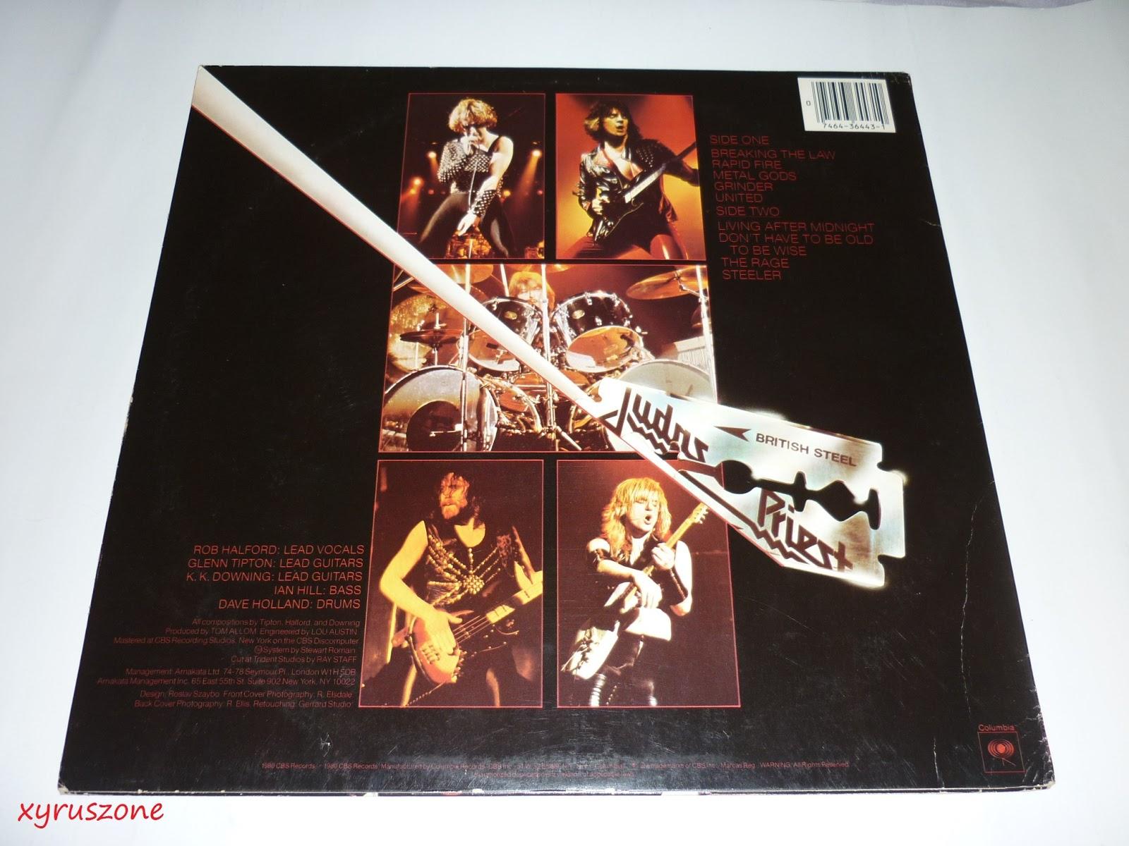 British Steel: Xyrus Zone: Judas Priest