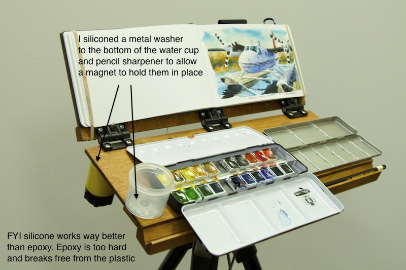Gurney Journey Your DIY Pochade Easel Designs