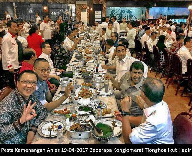 Image result for foto pesta kemenangan anies