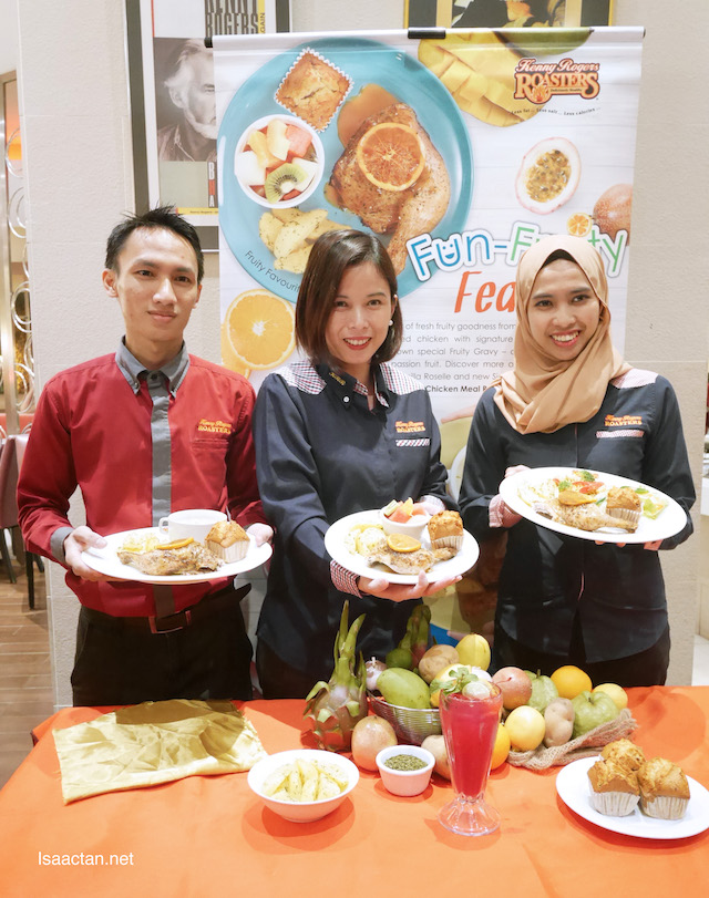 Fun Fruity Feast Promotion By Kenny Rogers ROASTERS (KRR)