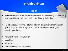 Probiyotik nedir
