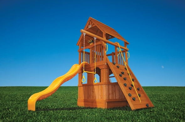 Swingset Solutions Small Yard No Problem