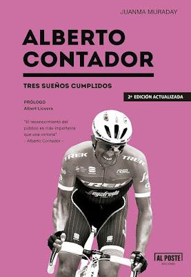 Regalos originales para ciclistas: Alberto Contador tres sueños libro