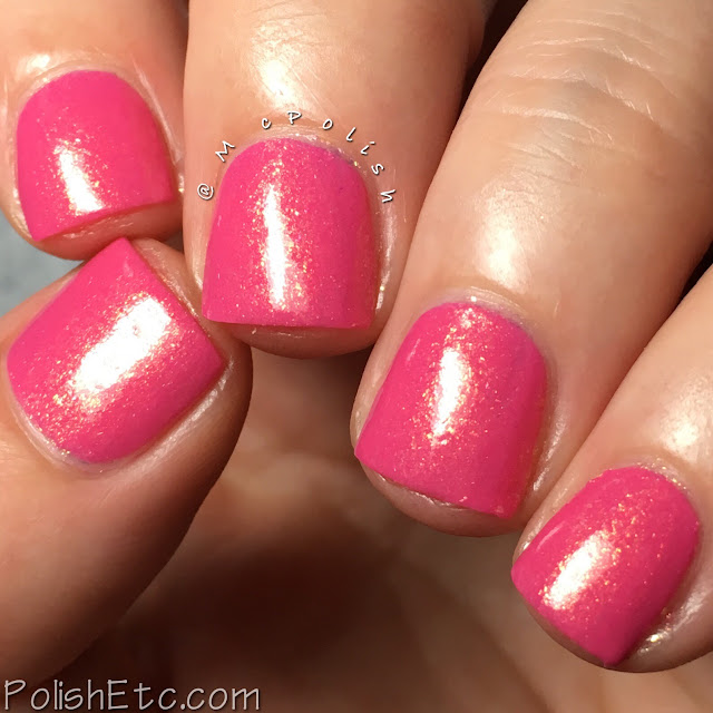 KBShimmer - Fall 2017 Blogger Collaboration Collection - McPolish - I Don't Want No Shrubs