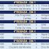 Torneio Sororoca de futebol de areia: Situação do grupo A, após 4 rodadas