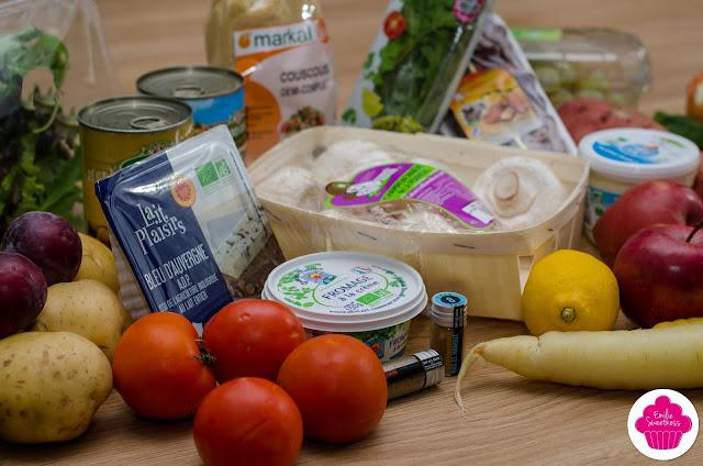 QuiToque - Box panier végétarien et panier de fruits + concours