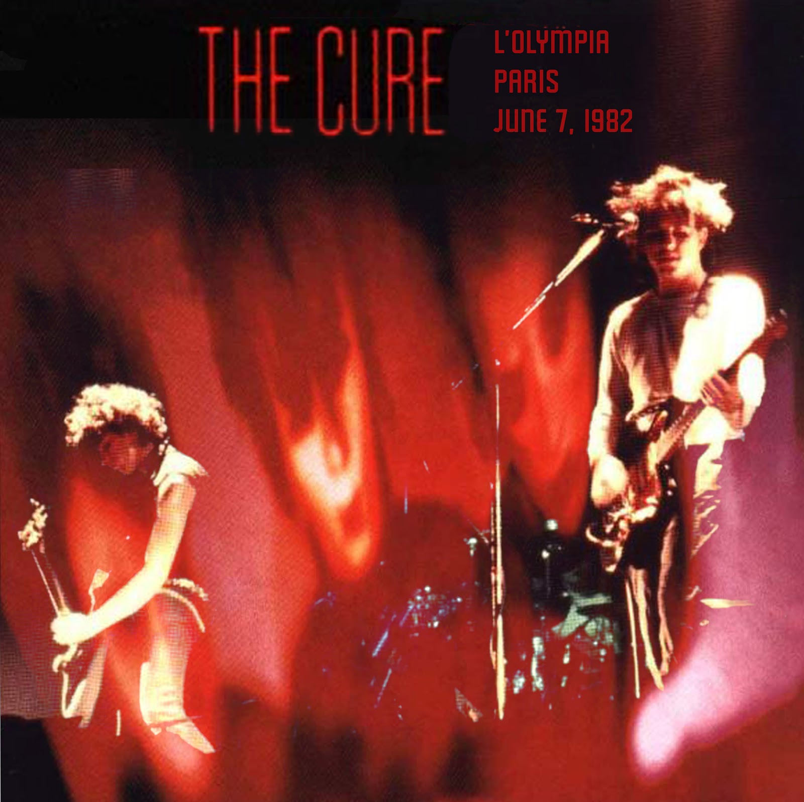 100 greatest bootlegs: #17 THE CURE - L'Olympia, Paris (June