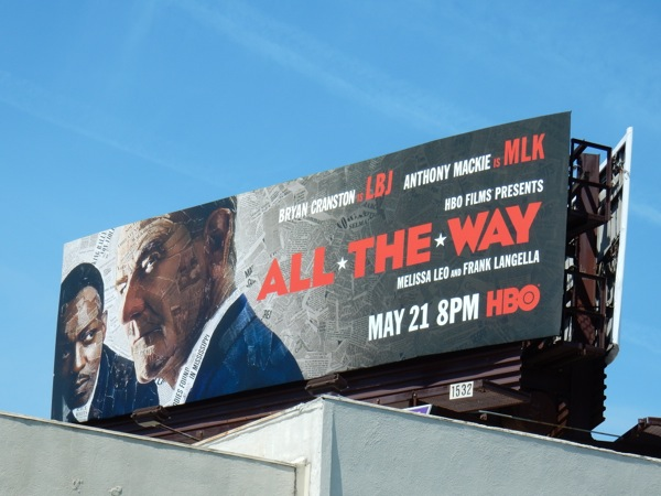 All The Way movie billboard