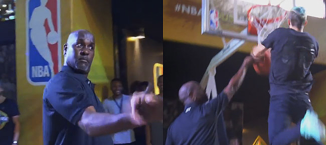 Gary Payton SHOCKED by 6'1 Dunker Jordan Kilganon! (VIDEO)