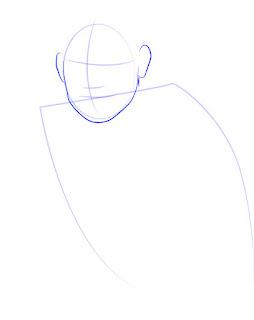 Langkah 2. Super Simpel Menggambar James Rodríguez
