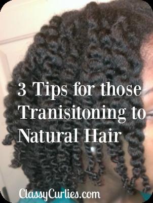 natural hair transitioning tips