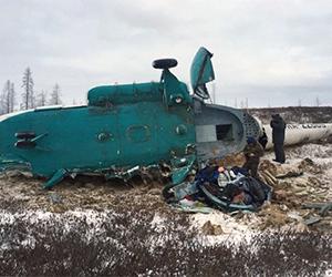 Queda de helicóptero mata 21 pessoas na Rússia