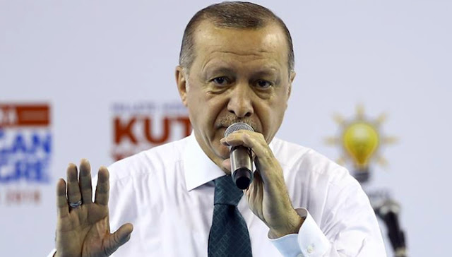 Presiden Erdogan Dukung Serangan AS dan Sekutunya ke Suriah
