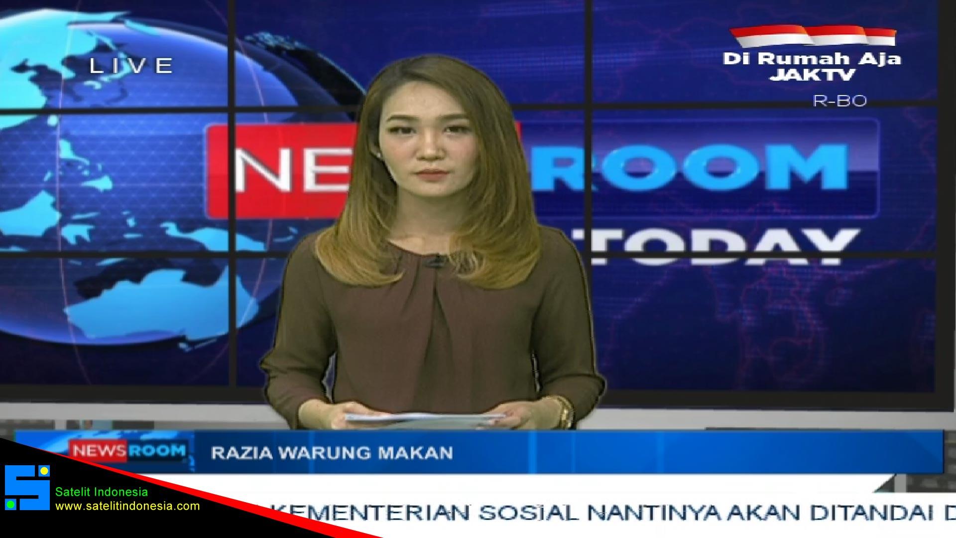 Frekuensi siaran Jak TV di satelit Telkom 4 Terbaru