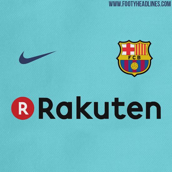 FC Barcelona camiseta suplente 17-18