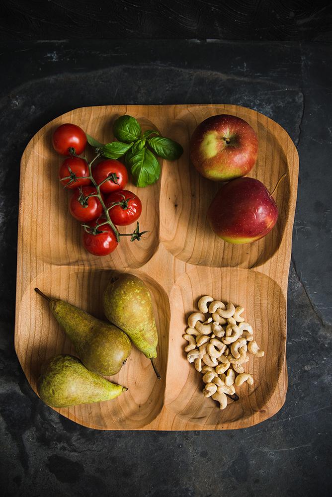 Misa z drewna do kuchni