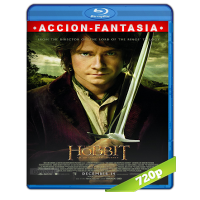 El Hobbit 1 (2012) BRRip 720p Audio Trial Latino-Castellano-Ingles 5.1