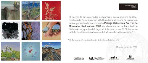 Inauguración de la Exposición Paisaje.UM versus: Sierras de Moratalla