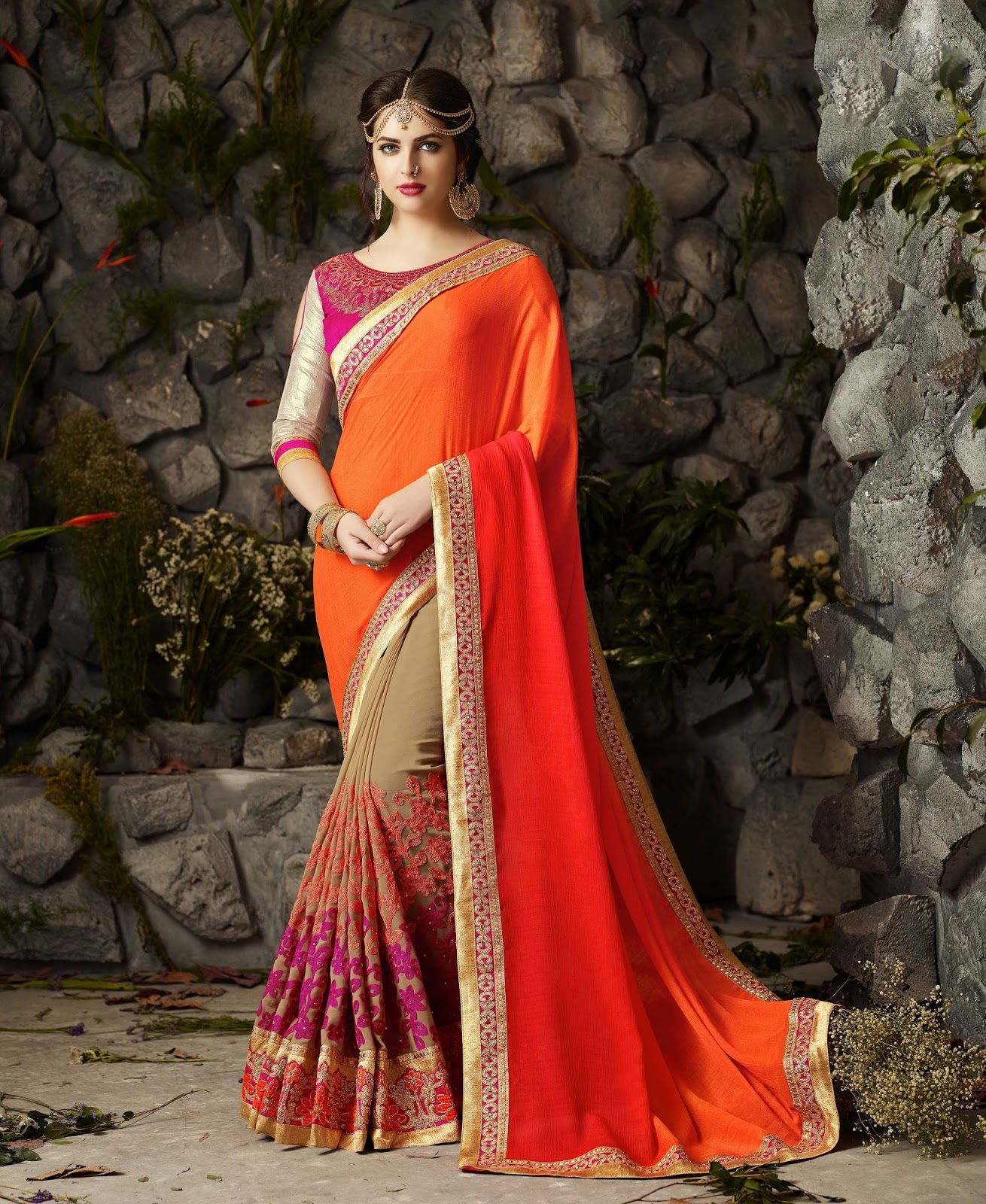 Vivana 2 – Most Popular Fashion Wear Designer Saree