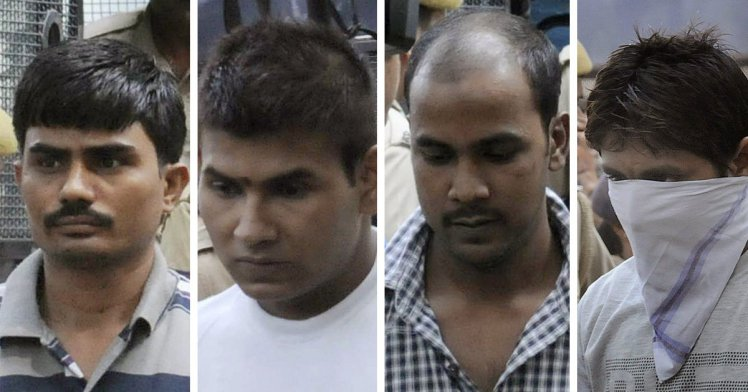 Four men who gang-raped woman on bus will be hanged in Singapore