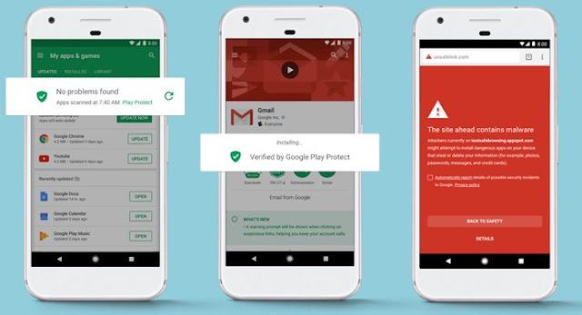 Cara Mudah Mengaktifkan Google Play Protect di Smartphone Android