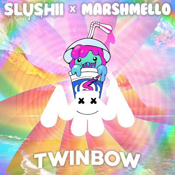 Slushii & Marshmello - Twinbow - Single Cover