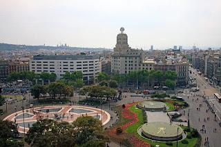 La Plaza cataluña