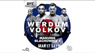 Ver UFC Fight Night 127: Werdum vs Volkov En vivo 17/03/2018