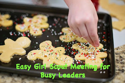 Quick Girl Scout Holiday Meeting Idea