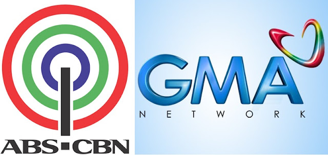 ABS-CBN vs GMA Network logo
