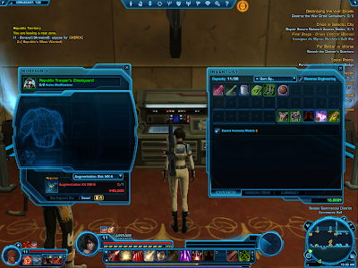 Swtor Augmentation Kit Crafting
