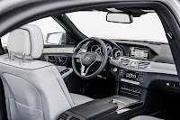 The new-generation Mercedes-Benz E-Class front interior
