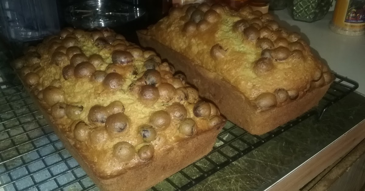 Simply Self Sufficiency Dried Cranberry Banana Bread