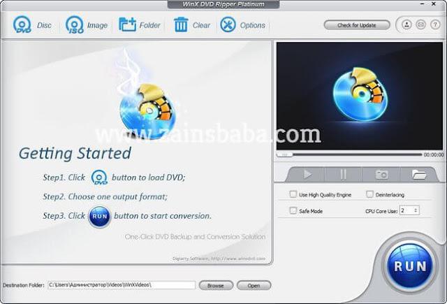 WinX DVD Ripper Platinum 8.6.0.204 Build Multilingual Latest