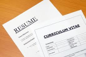 Download Sample Resumes Curriculum Vitae C V And Cover