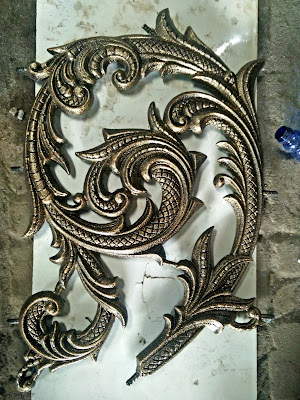 railing besi tempa untuk rumah mewah