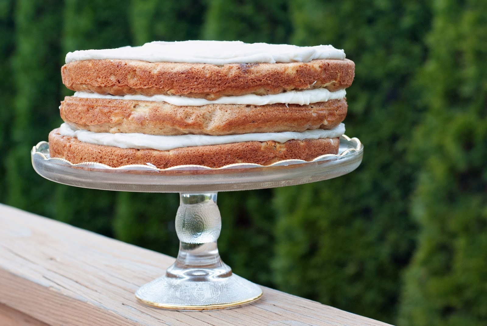 Ali à la mode: Brown Butter Apple Spice Layer Cake with ...
