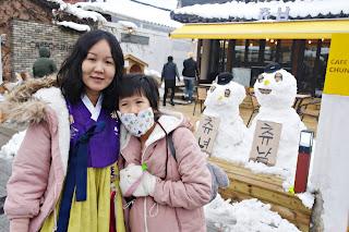 Revisit Jeonju - Omokdae Pavilion (오목대) in Hanbok | www.meheartseoul.blogspot.sg