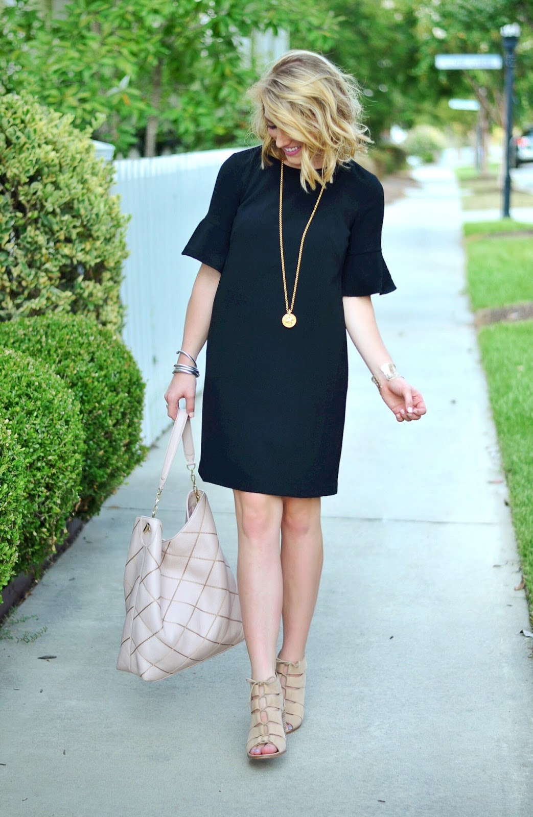 The perfect little black Dress (Something Delightful Blog)